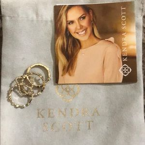 Kendra Scott Karis Ring Set size 5